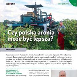 Czy polska aronia może być...