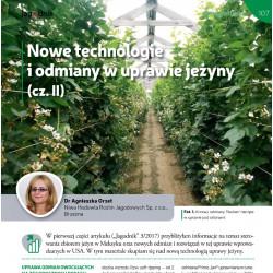 Nowe technologie i odmiany...
