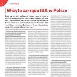 Wizyta zarządu IBA Polsce