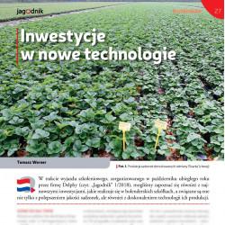 Inwestycje w nowe technologie