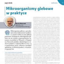 Mikroorganizmy glebowe w...
