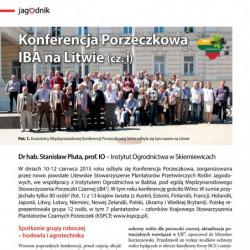 Konferencja Porzeczkowa IBA...