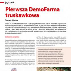Pierwsza DemoFarma truskawkowa