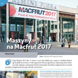 Maszyny na Macfrut 2017